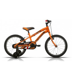 "Bicicleta Megamo 18"" Kid Boy Naranja 2017"