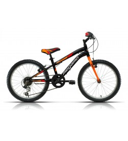 "Bicicleta Megamo 20"" Open Junior Boy Negro"