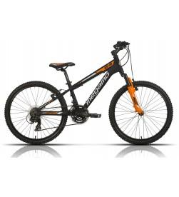 "Bicicleta Megamo 24"" Open Junior Boy Negro"