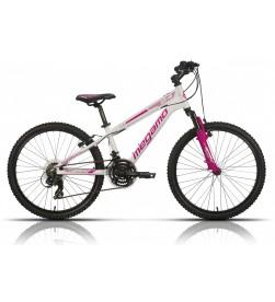 """Bicicleta Megamo 24"""" Open Junior Girl Blanco"""