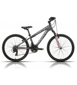 """Bicicleta Megamo 24"""" Open Junior Girl Gris"""