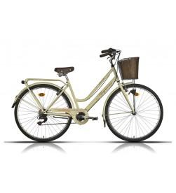 """Bicicleta Megamo Paseo Ronda Old 28"""" Beige (16)"""