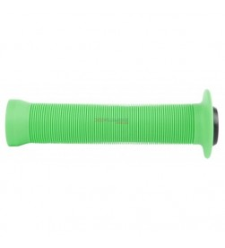 Puños bmx rayas Velo Griff Verde Fluor