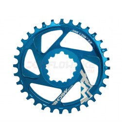 Plato Miche MTB XM SR ONE X DIRect Mount (DM) 6mm Offset 32dientes azul 11v. para Sram