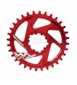 Plato Miche MTB XM SR ONE X DIRect Mount (DM) 6mm Offset 30dientes rojo 11v. para Sram