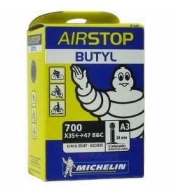 Cámara Michelin A3 Airstop 700x35-47 Schrader