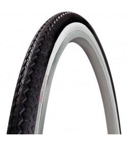 Cubierta Neumatico Michelin World Tour 650x35A - 26x 1.3/8 (35-590) negra banda blanca