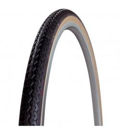 Cubierta Neumatico Michelin World Tour 650x35A - 26x 1.3/8 (35-590) negra banda marron