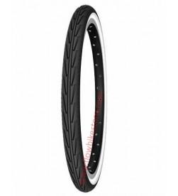 Cubierta Neumatico Michelin Confort City 24x1.3/8x1.1/4 (32-540) Perfil Blanco