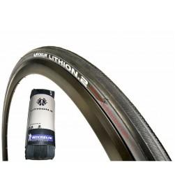 Cubierta Neumatico Carretera 700x23 Michelin Lithion 2 V2 Gris
