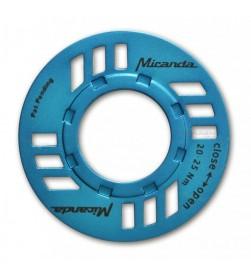 Protector Cadena e-Bike Motor Bosch Azul