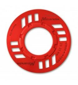 Protector Cadena e-Bike Motor Bosch Rojo