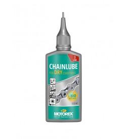 Lubricante aceite para seco Motorex Chainlube Dry 100ml