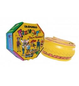 Cubierta Amarillo Duro Fixie 700x24c plegable