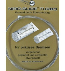 Cable Freno Niro MTB Acero Inoxidable 3 metros Tandem