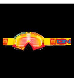 Máscara Oneal B-Flex ETR Amarillo/Rojo Radium