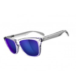 Gafas de Sol Oakley FrogSkins Polished Clear / Violet Iridium