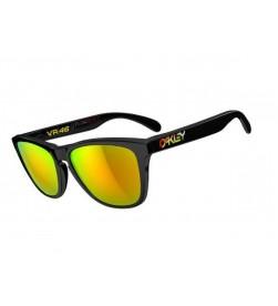 Gafas de Sol Oakley FrogSkins Valentino Rossi VR46 Polish Black / Fire Iridium