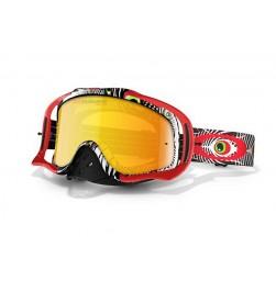 Máscara MX Oakley Crowbar (TLD Discharge Rojo)