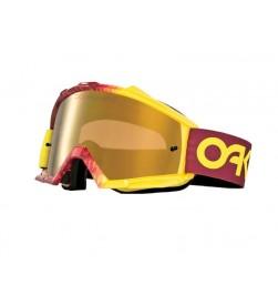 Máscara MX Oakley Proven Factory Fade Rojo Amarillo