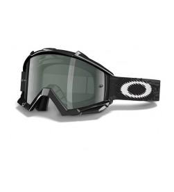 Máscara MX Oakley Proven Jet Black/ Dark Grey