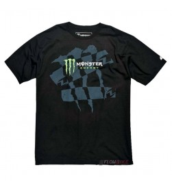 Camiseta One Industries Monster Energy Drazed Negro