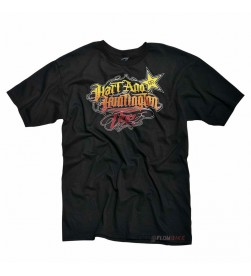 Camiseta Rockstar One Industries H&H Linwood Negro