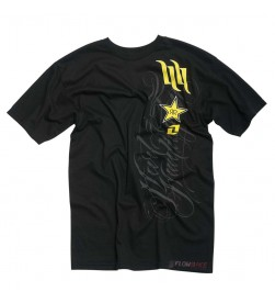 Camiseta Rockstar One Industries H&H Arbor Negro
