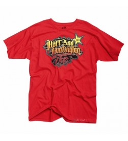 Camiseta Rockstar One Industries H&H Linwood Rojo