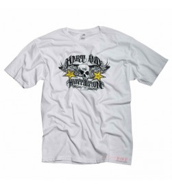 Camiseta Rockstar One Industries H&H Sutter Blanco