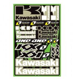 Hoja Plantilla Adhesivos One Industries Kawasaki KX