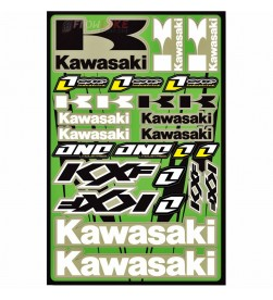 Hoja Plantilla Adhesivos One Industries Kawasaki KXf
