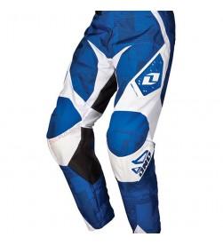 Pantalon One Industries DH Carbon Blocky Azul Blanco