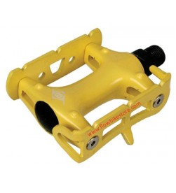 Pedales Plataforma Fixie Origin 8 Color Amarillo