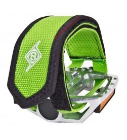Strap Pro Grip II Fixie Origin 8 Calapie Velcro Color Verde