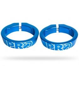 Abrazaderas Pro para Lock-on Azul