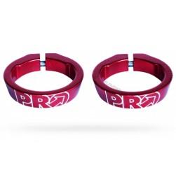 Abrazaderas Pro para Lock-on Rojo