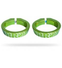 Abrazaderas Pro para Lock-on Verde