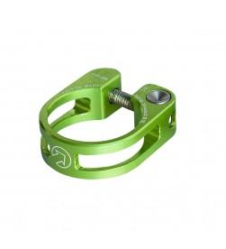 Cierre sillín PRO Performance Aluminio Verde 31.8mm de tornillo