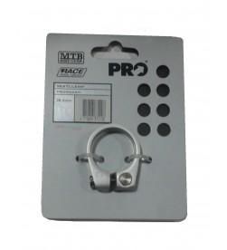 Abrazadera sillin PRO Aluminio 28.6mm tornillo