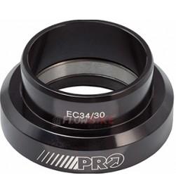 """Dirección Inferior PRO 1.5"""" EC49/40 Gravity Negro"""