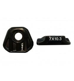 Abrazadera lateral rail sillin PRO 9-10.3mm.