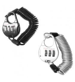 Candado con contraseña Miniespiral 150cmx3mm