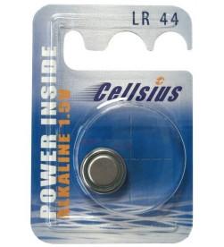 Pila botón LR44 Alcalina Cellsius