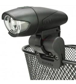 Soporte Luz/faro para cestas KLICKFIX