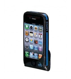 Soporte Movil Lotus para Iphone - Smartphone Negro