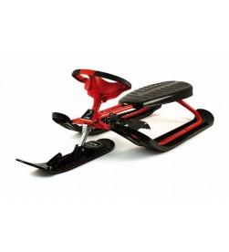 Trineo STIGA Snowracer Ultimate Pro Acero Rojo