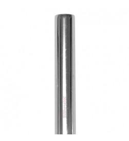 Tubo Tija Sillín Cromada 22.2mm, largo 200mm