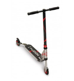 Patinete City Scooter Fuzion JumpX Red Alu negro/rojo/plata