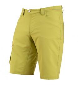 Pantalon Corto Pearl Izumi Baggy MTB Canyon Verde Citron (con badana 3D)